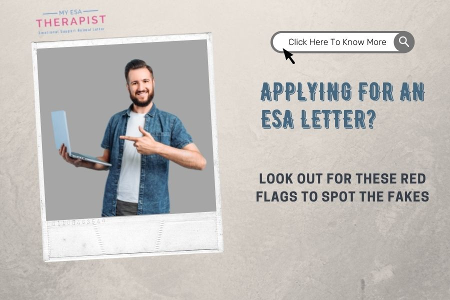 Applying For An ESA Letter? Look Out for These Red Flags to Spot The Fakes.