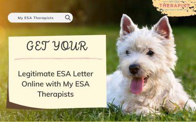 Get Your Legitimate ESA Letter Online